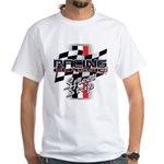 Street Strip White T-Shirt