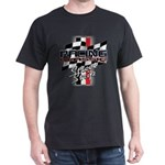 Street Strip Dark T-Shirt