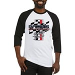 Street Strip Baseball Jersey