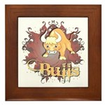 Bulls Team Framed Tile