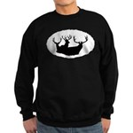 Mule deer Sweatshirt (dark)