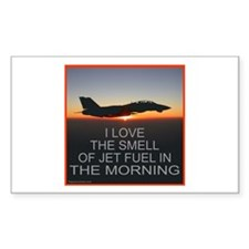SMELL OF JET FUEL Rectangle Sticker 10 pk)