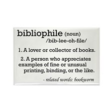 Bibliophile Definition Rectangle Magnet
