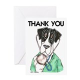 Dr Mtl TY Bottom Of Wallet Greeting Card