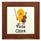 Viola Chick Framed Tile