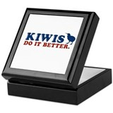 Kiwis Do it Better Keepsake Box