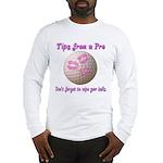 Wipe Your Balls Long Sleeve T-Shirt