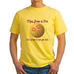 Wipe Your Balls Yellow T-Shirt