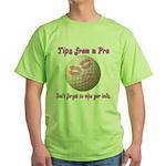 Wipe Your Balls Green T-Shirt
