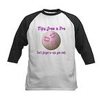 Wipe Your Balls Kids Baseball Jersey