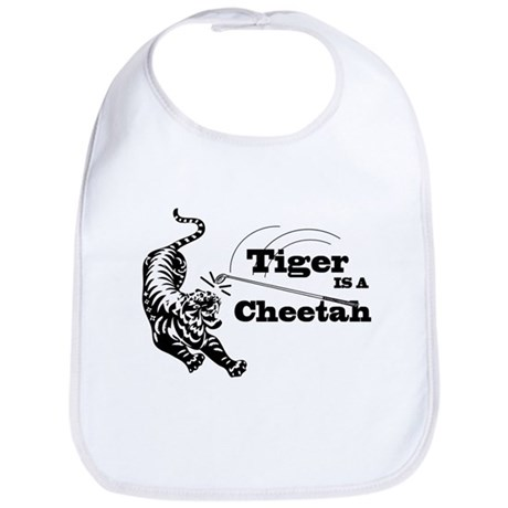 Tiger Is A Cheetah Bib