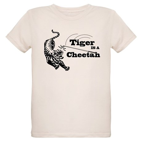 Tiger Is A Cheetah Organic Kids T-Shirt