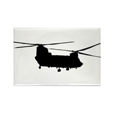 Funny Helicopters Rectangle Magnet