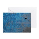 Piso Azul (Blue Floor) Blank Card