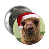 "Alpaca Christmas Button 2.25"" Button (100 pack)"