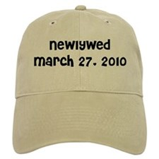 Newlywed March 27, 2010 Baseball Cap