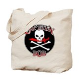 Captain Bob (Cutlass) Tote Bag