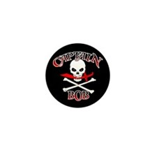 Captain Bob Mini Button (10 pack)