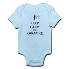 Keep Calm & Karaoke Infant Bodysuit
