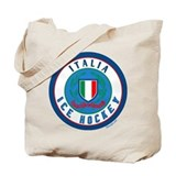 IT Italia Italy Ice Hockey Tote Bag