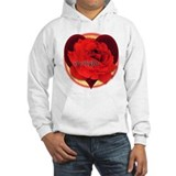 itwilight Do You? Red Rose of Love Hoodie
