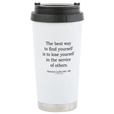 Mahatma Gandhi 24 Ceramic Travel Mug