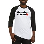 Grandma of Twins Baseball Jersey
