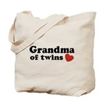 Grandma of Twins Tote Bag