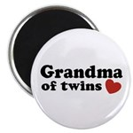 Grandma of Twins Magnet