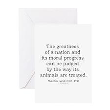 Mahatma Gandhi 26 Greeting Card