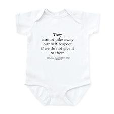 Mahatma Gandhi 30 Infant Bodysuit