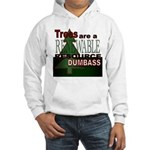 Renewable Dumbass Hooded Sweatshirt