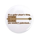 "Cigar Box Guitar 3.5"" Button (100 pack)"