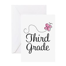 Cute 3rd Grade Greeting Card