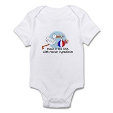 Stork Baby France USA Infant Bodysuit