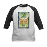 Bright Night Kids Baseball Jersey