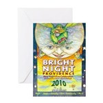 Bright Night Greeting Card