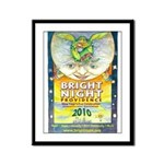 Bright Night Framed Panel Print