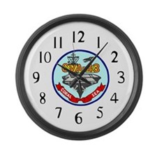 USS Coral Sea (CVA 43) Large Wall Clock