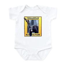 Shenandoah Nationl Park Bear Infant Bodysuit
