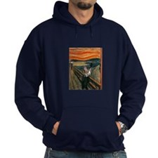 The Scream with Cats Hoodie