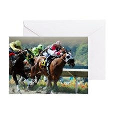 Racing Greeting Card