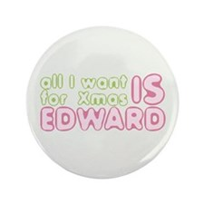 "Xmas Edward 3.5"" Button"