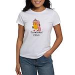Snowboard Chick Women's T-Shirt