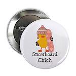 Snowboard Chick 2.25