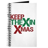 Keep the X in Xmas Journal