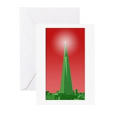 holiday pyramid Greeting Cards (Pk of 20)