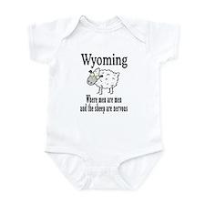Wyoming Sheep Infant Bodysuit