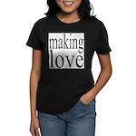7001. making love Women's Dark T-Shirt