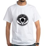White T-Shirt with Black and White logo